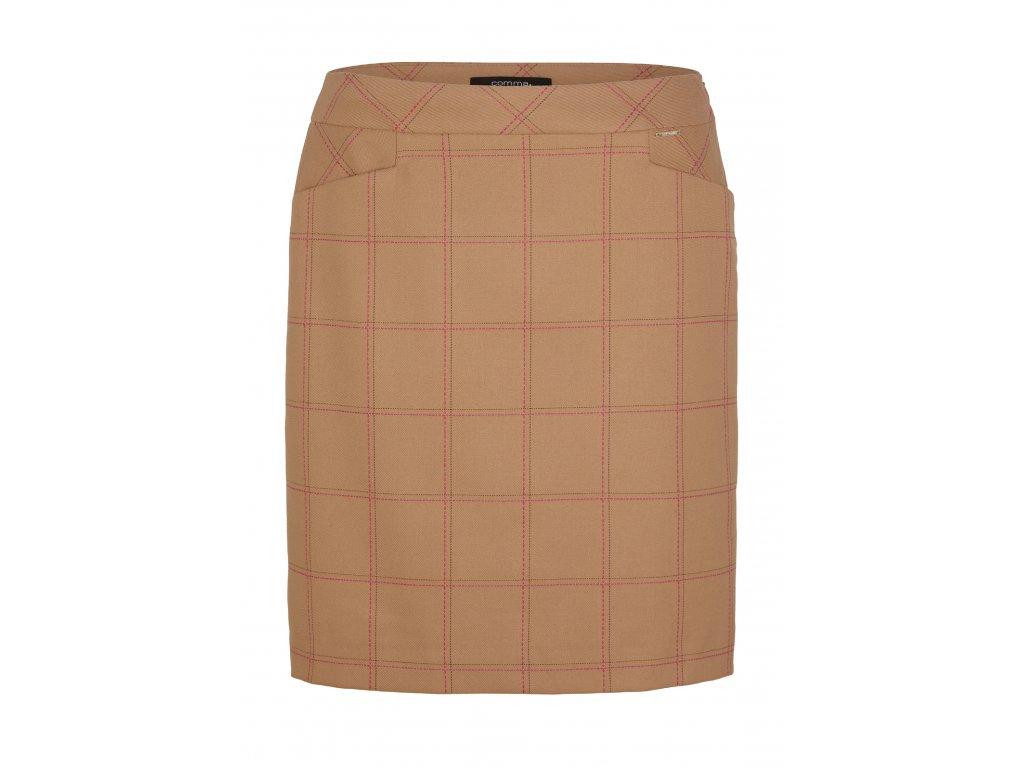 Kostkovaná sukně