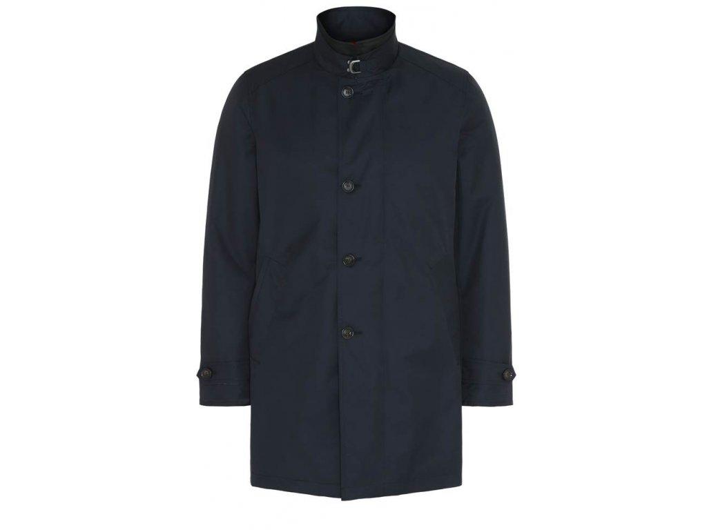 Tmavě modrý kabát