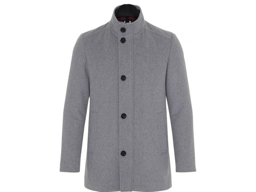 Vlněná bunda 2B2C šedá