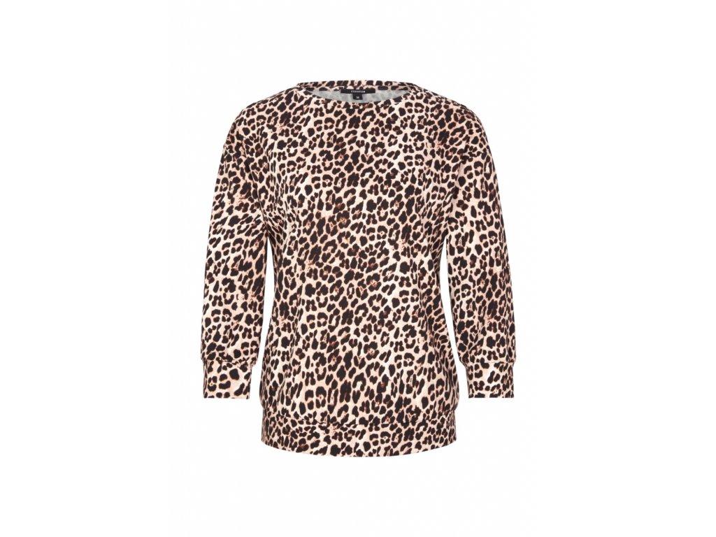 Mikina s leopardím potiskem