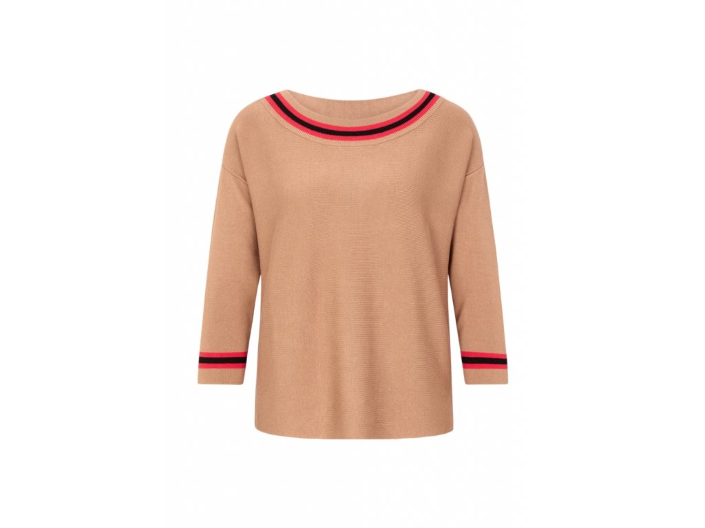 Jemný pletený svetr