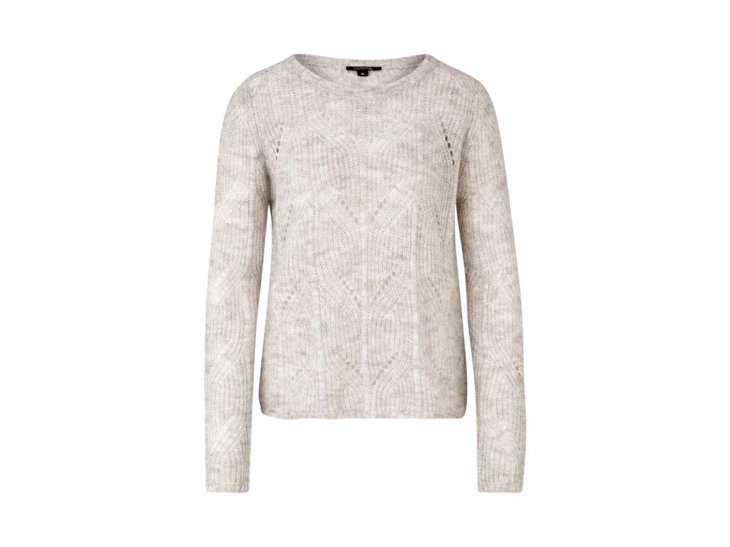 Lehký pletený svetr