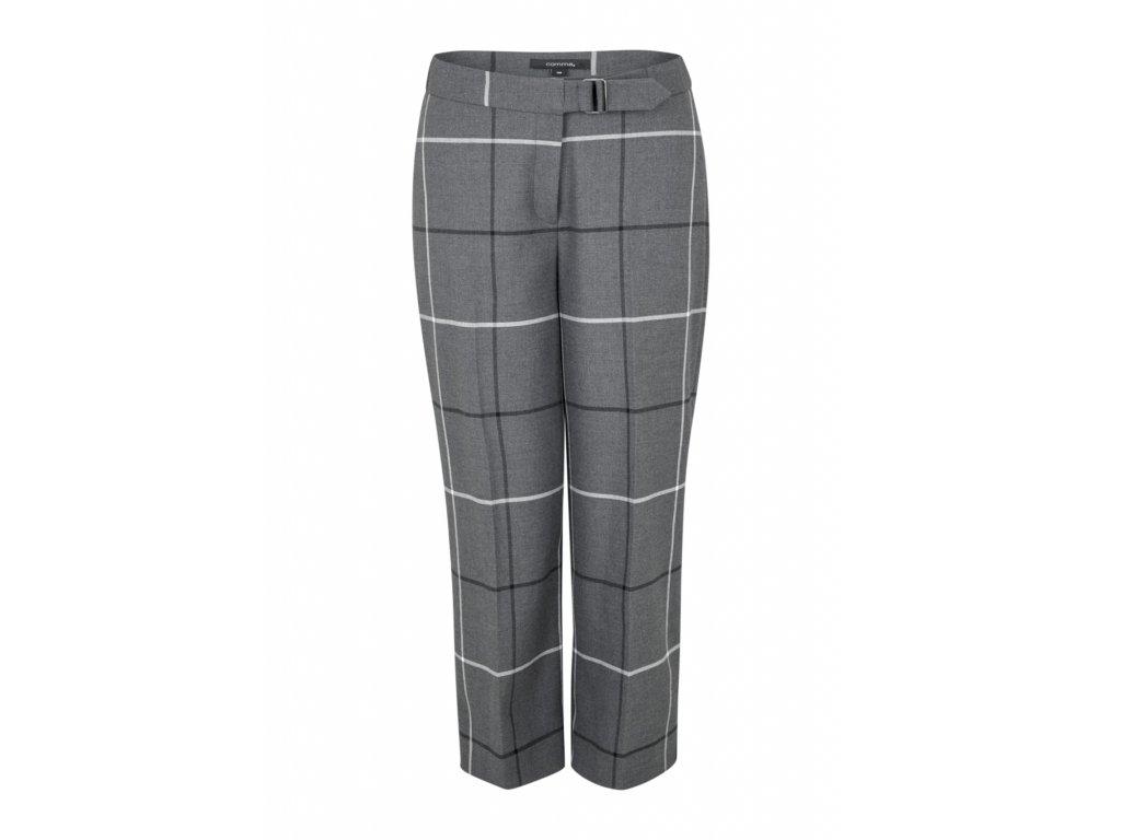 Kalhoty s kostkovaným vzorem