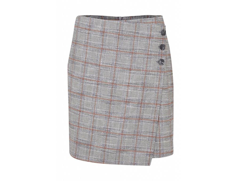 Krátká kostkovaná sukně