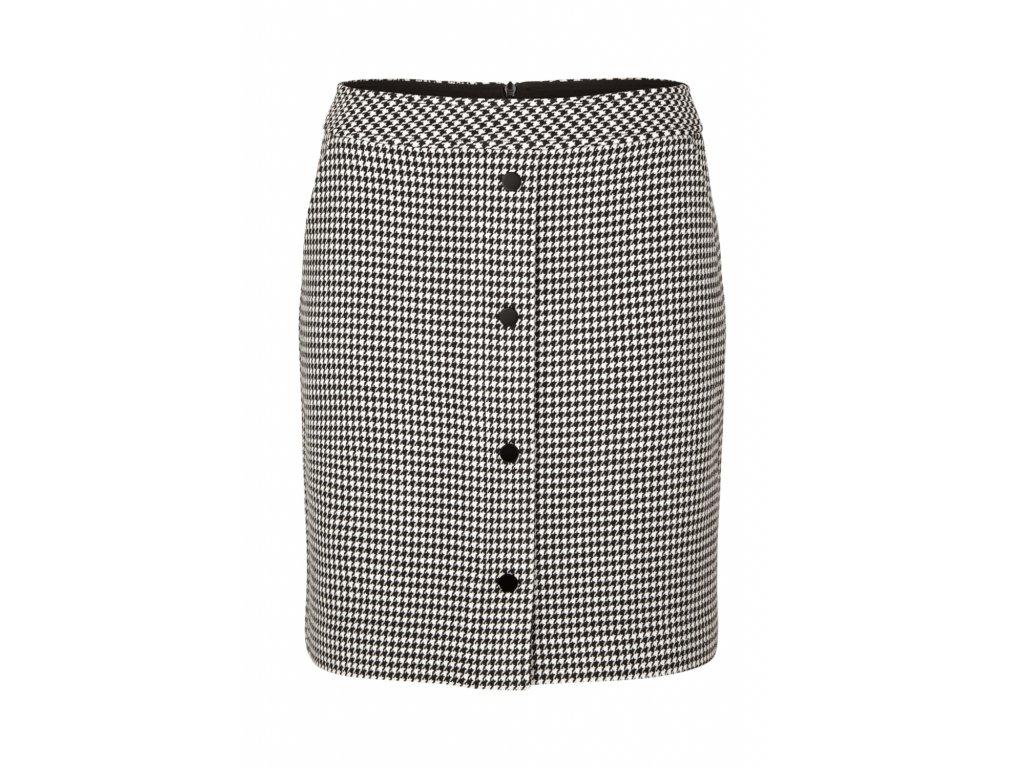 Krátká sukně s pepito vzorem