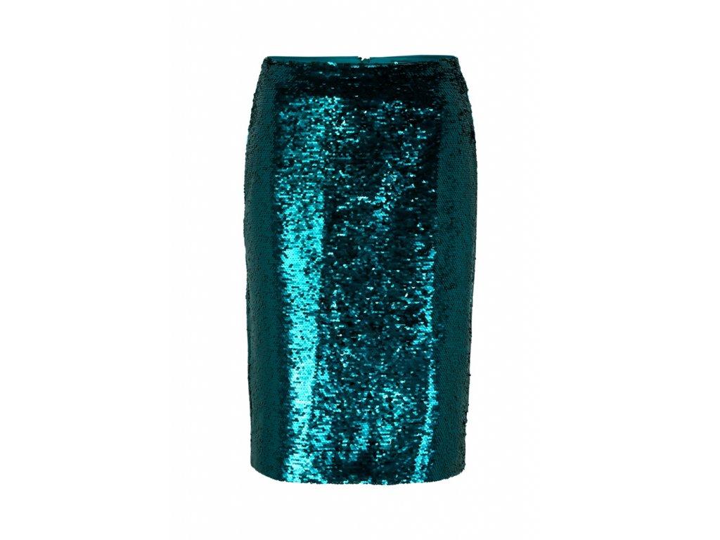 Flitrová sukně