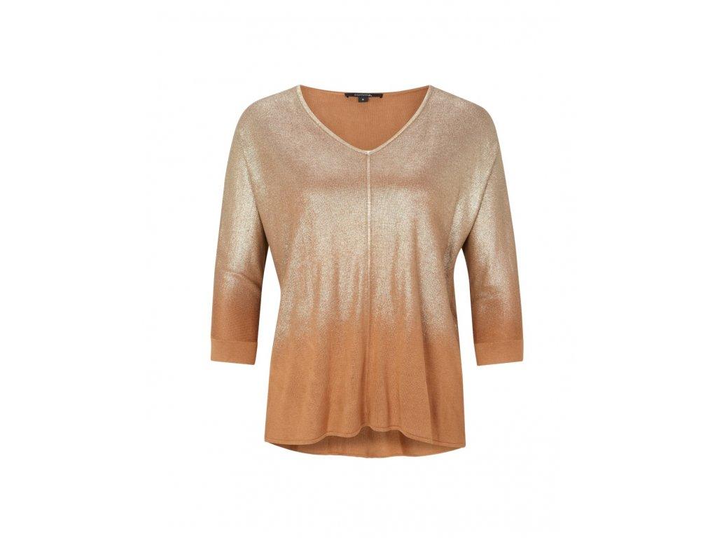 Pletený třpytivý svetr