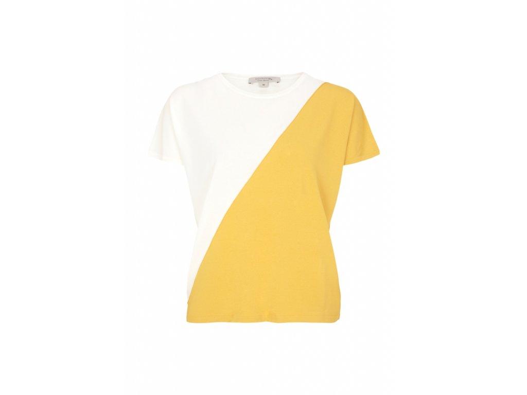 Dvoubarevné triko