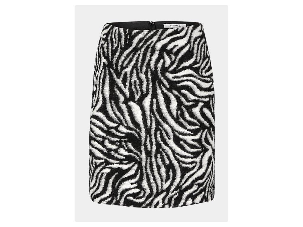 Krátká vlněná sukně