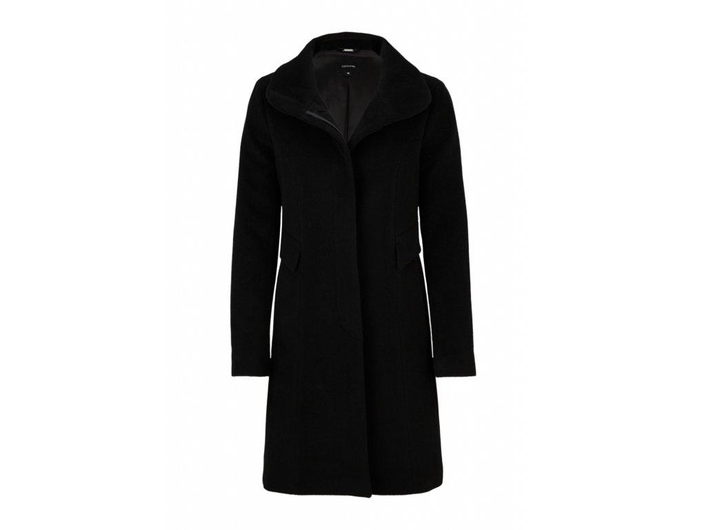 Černý elegantní kabát