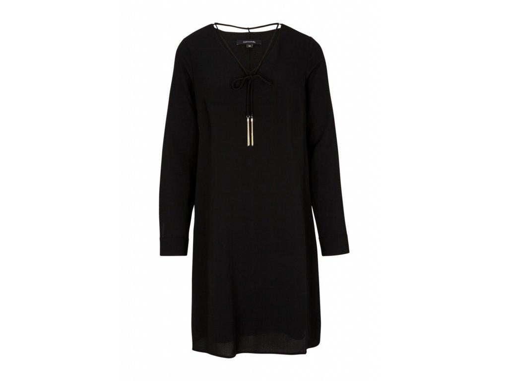 Černé oversize šaty