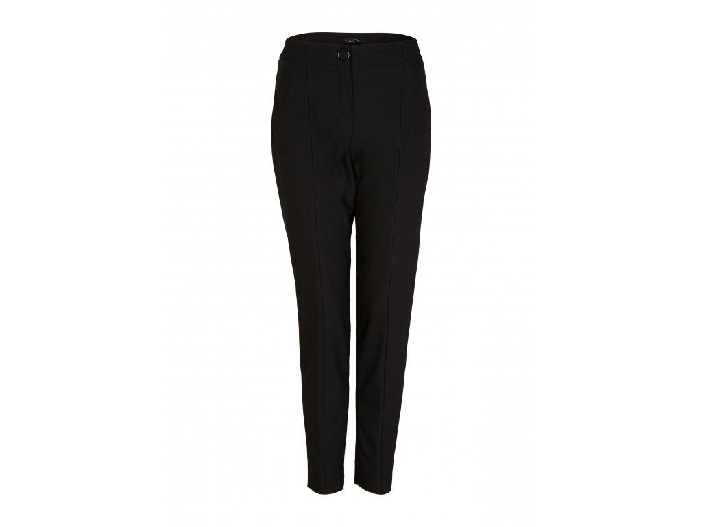 Černé basic kalhoty