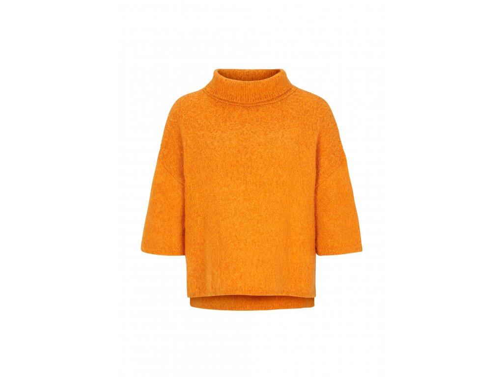 Oranžové pončo