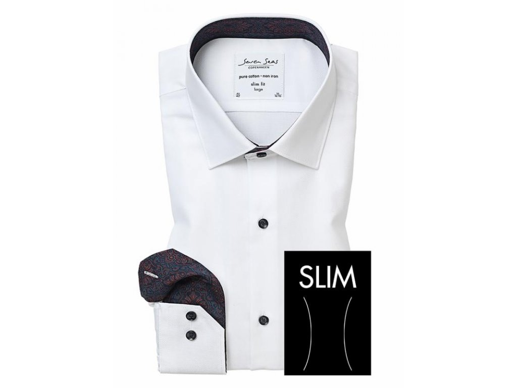 Slim Fit Royal Oxford košile