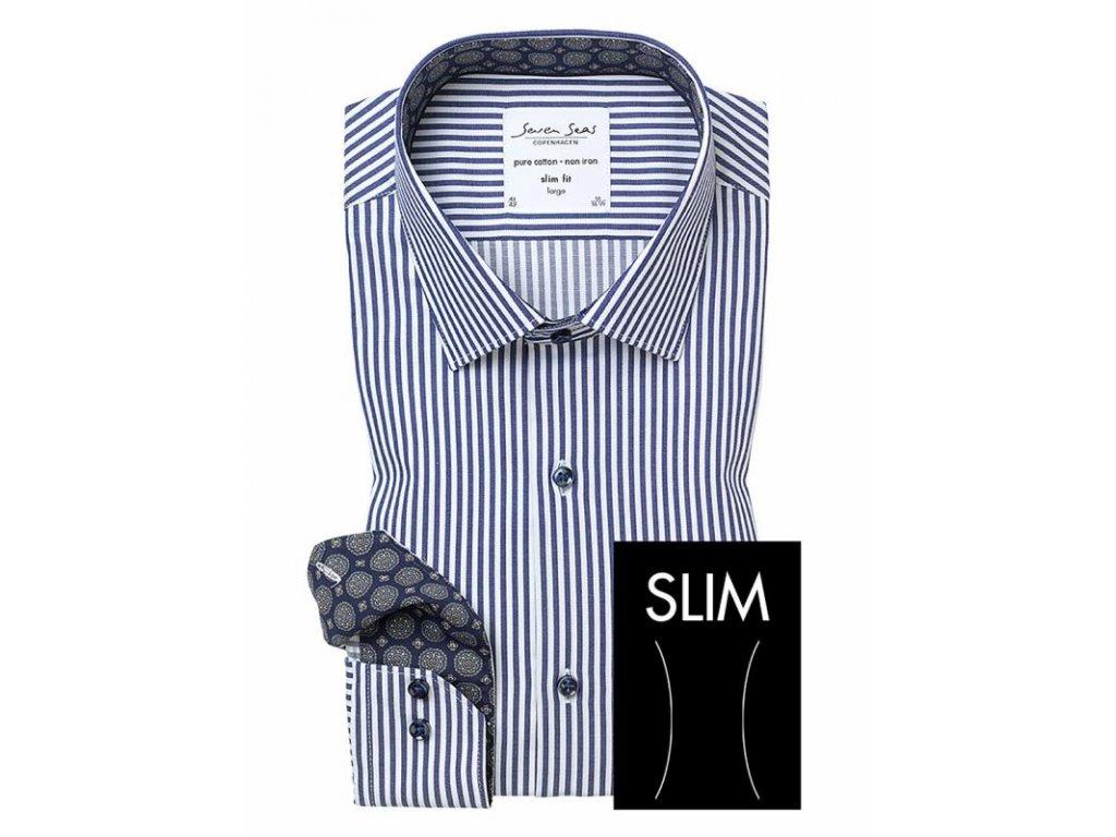 Slim fit košile Kadet