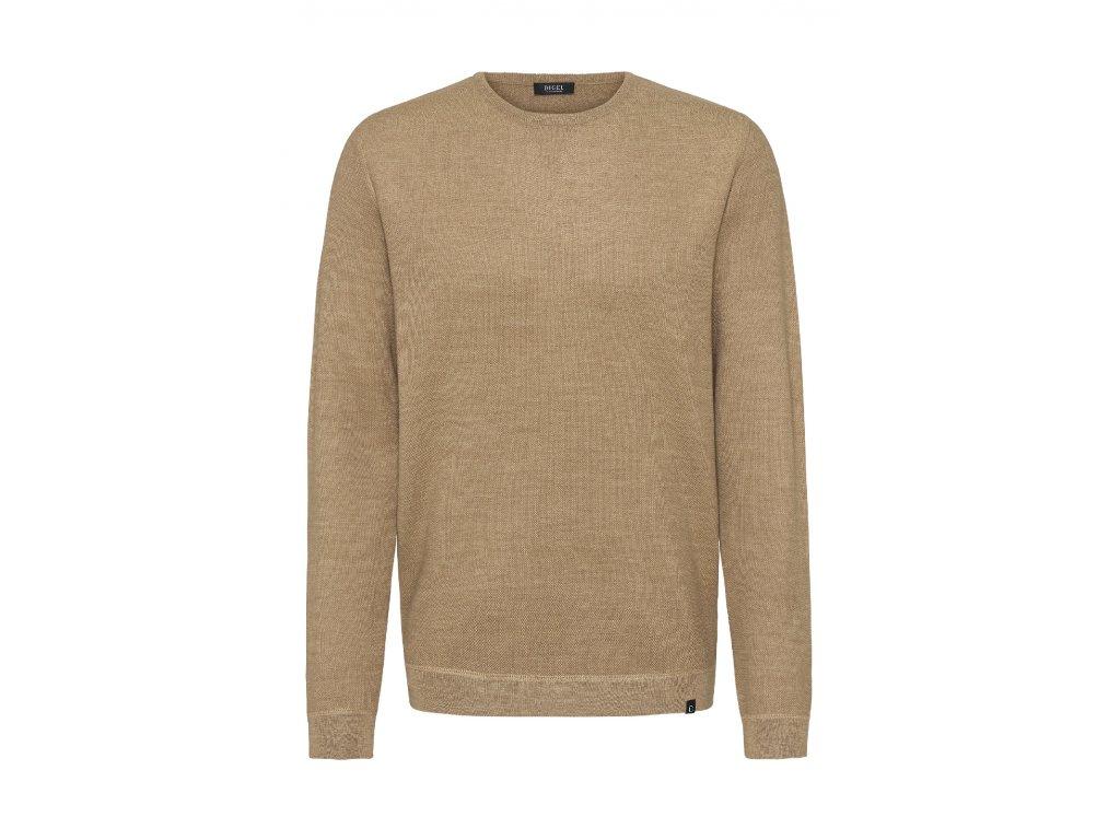 Béžový pulovr Faros