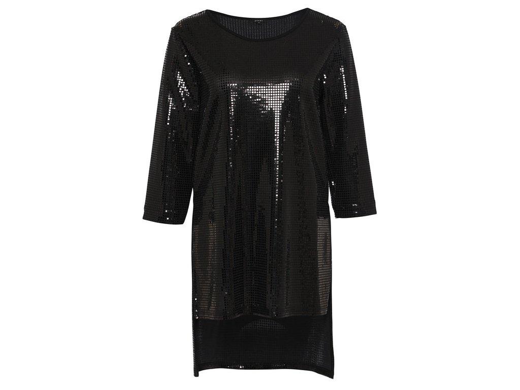 Černé šaty Ginfizz
