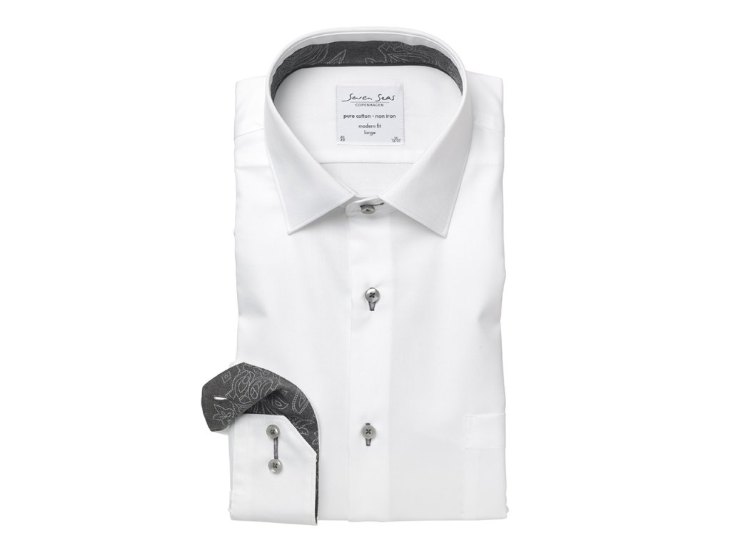 Modern fit košile Fine Twill Kong
