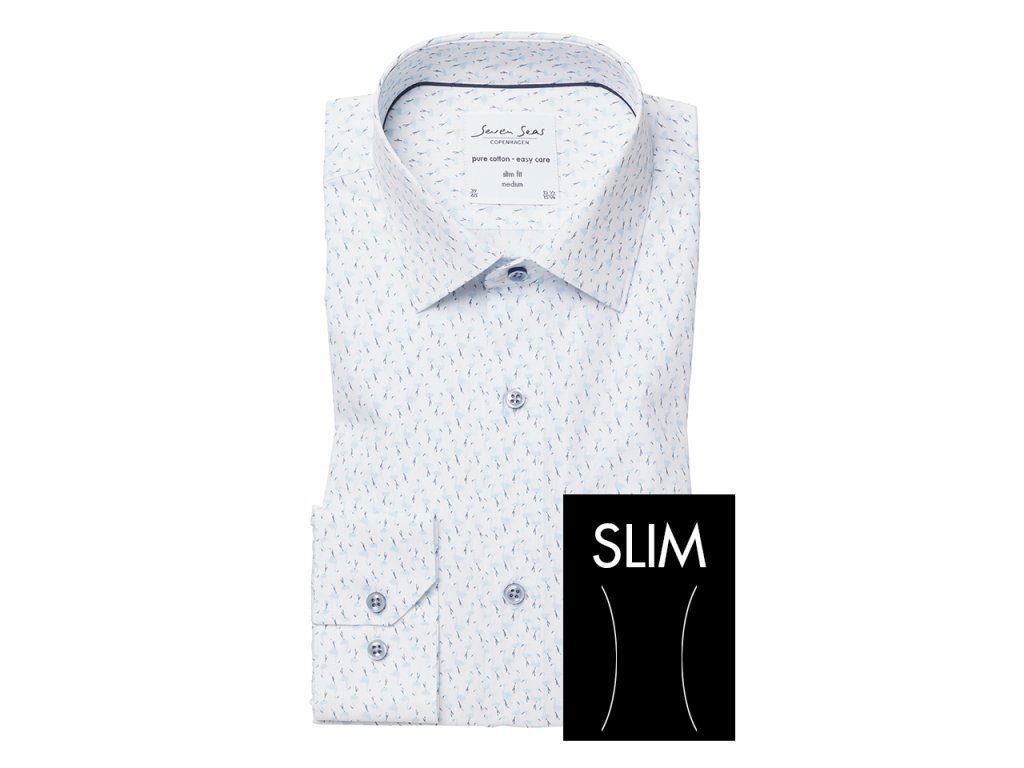 Slim Fit košile Flamingo