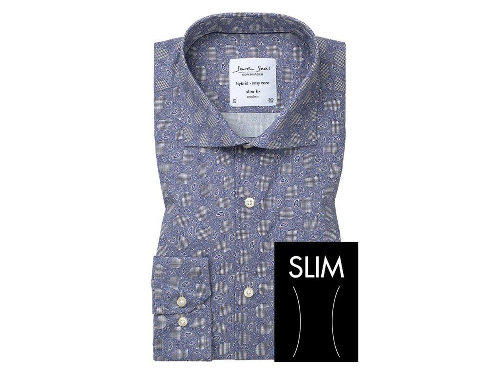 Slim fit košile Aston
