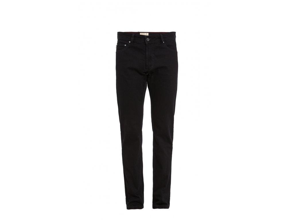 Černé kalhoty Leo