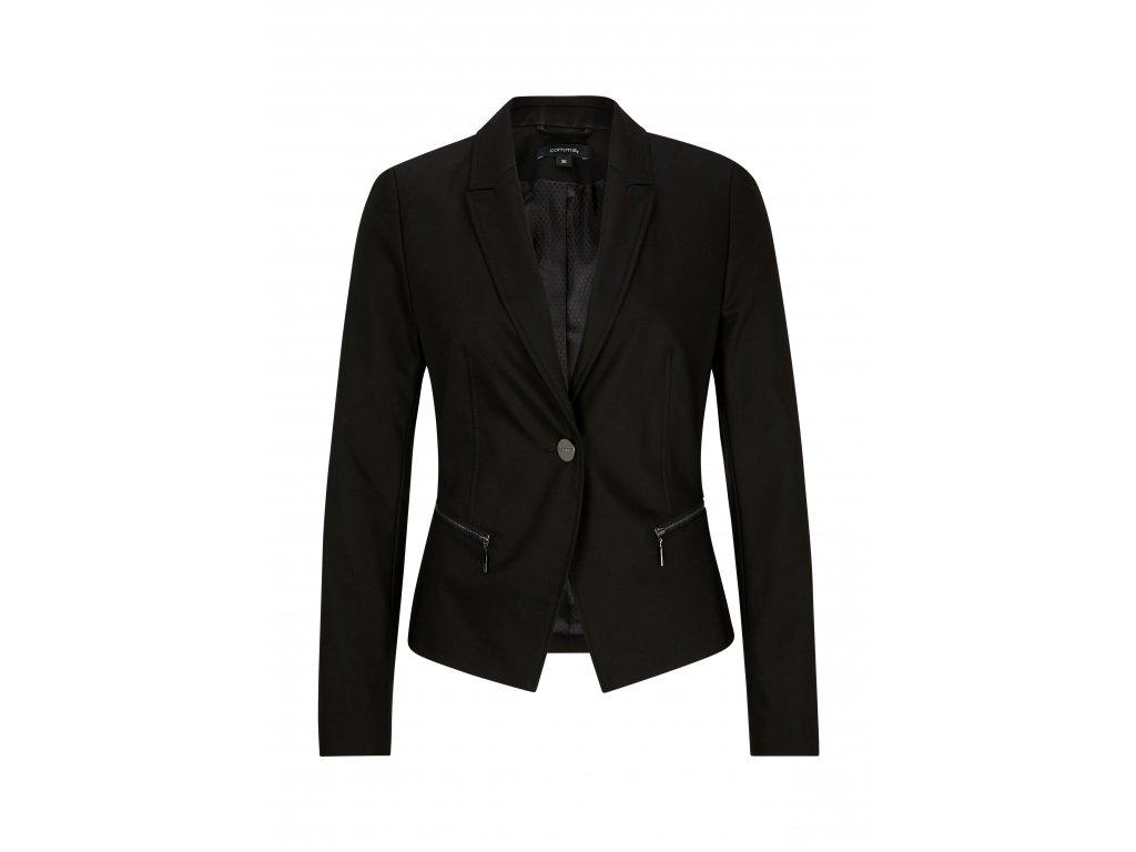 Černé sportovní sako