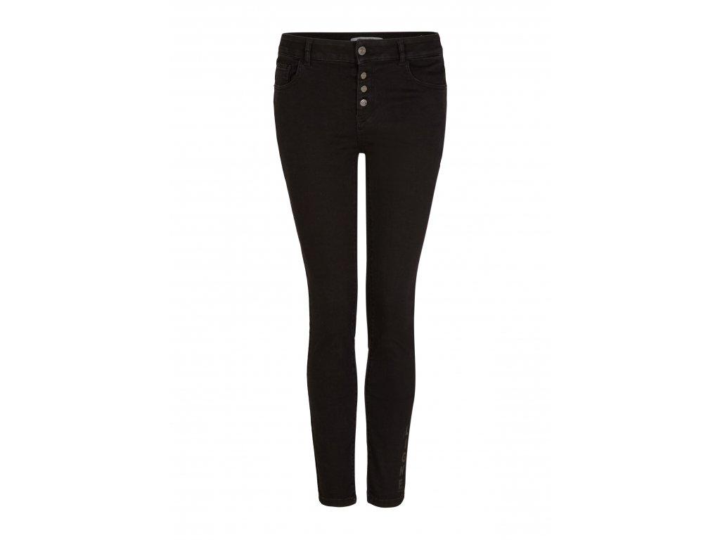 Černé skinny džíny
