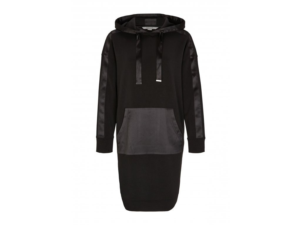 Mikinové šaty s kapucí