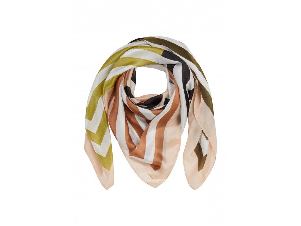 Vícebarevný šátek