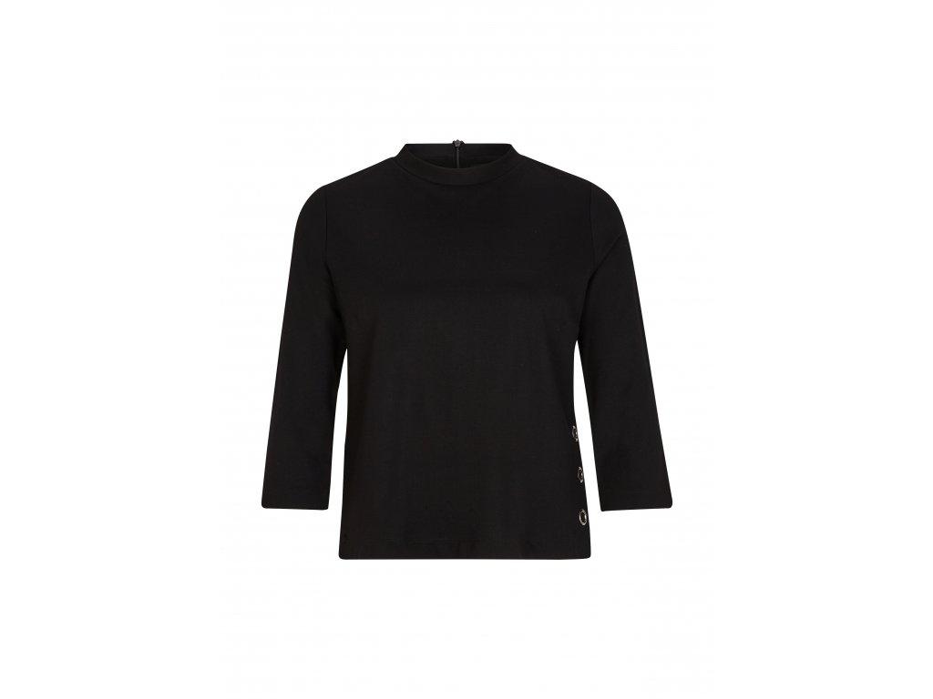 Černé oversize triko