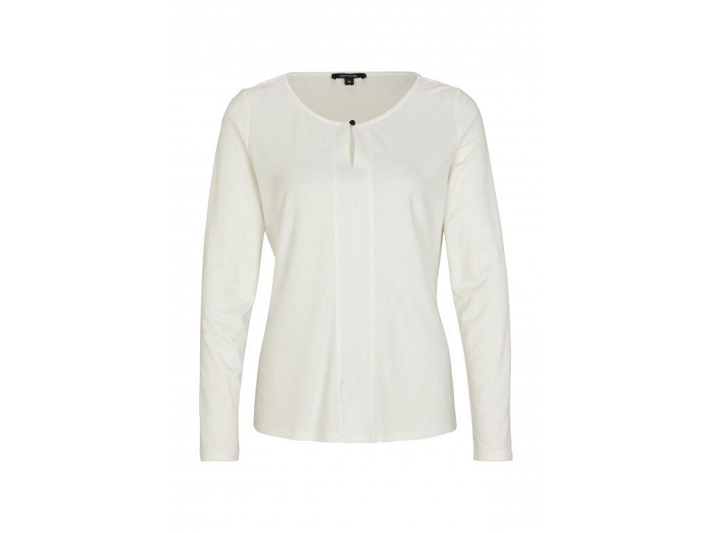 Bílé triko s dlouhým rukávem