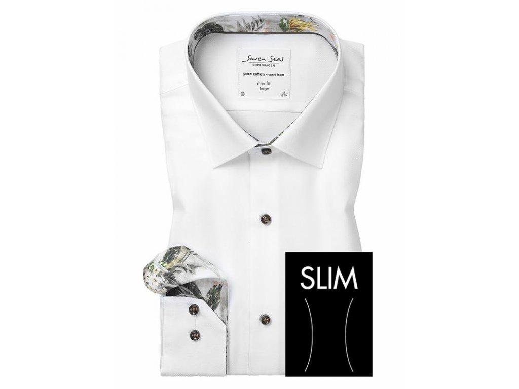 Slim fit košile Royal Oxford