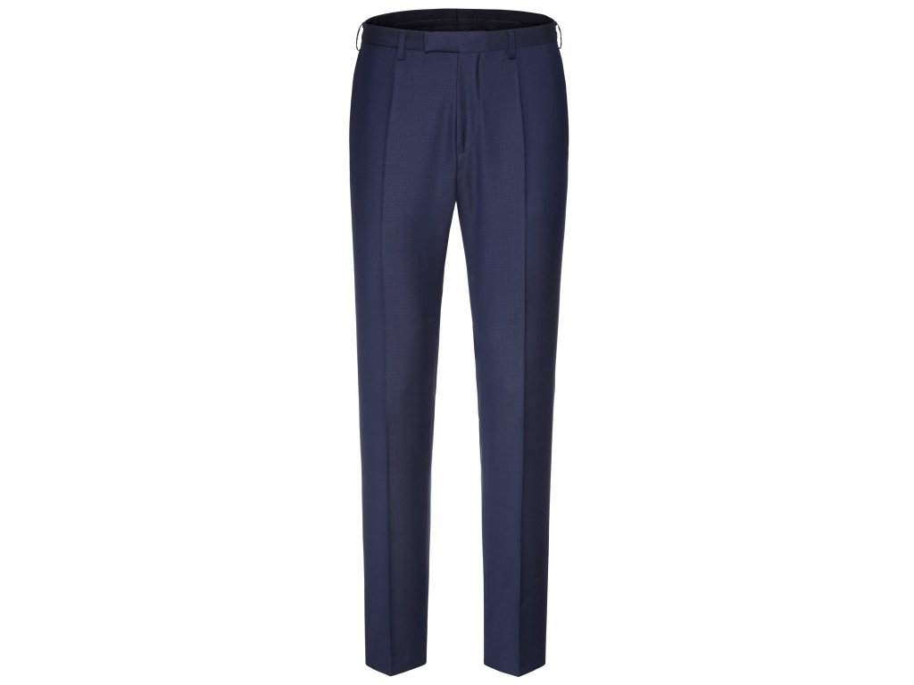 Tmavě modré oblekové kalhoty Kai