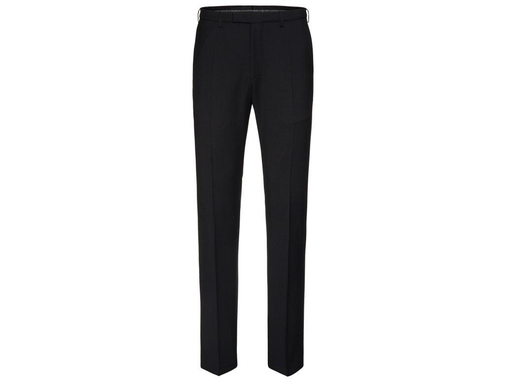 Černé oblekové kalhoty Kai-P