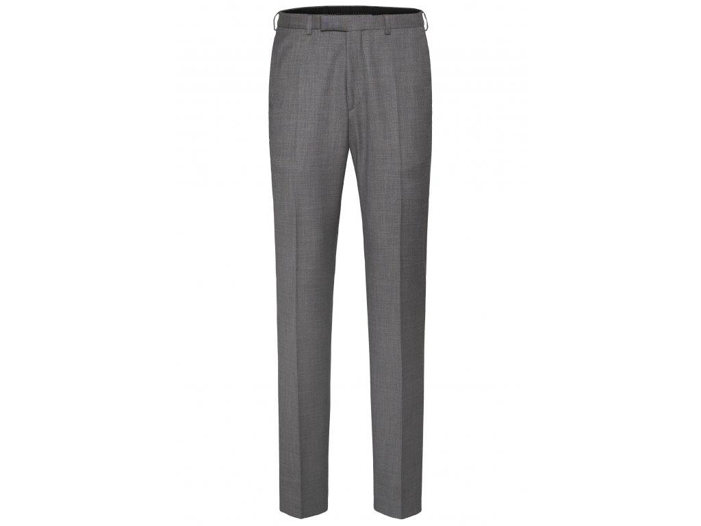 Šedé oblekové kalhoty Apollo