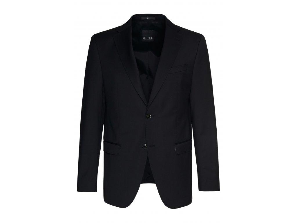 Černé oblekové sako Klaas-P