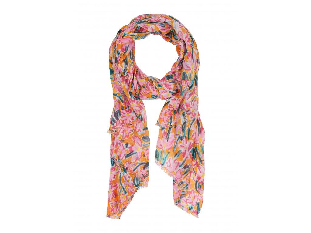 Šátek se vzorem