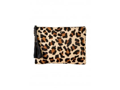 Kabelka s leopardím vzorem