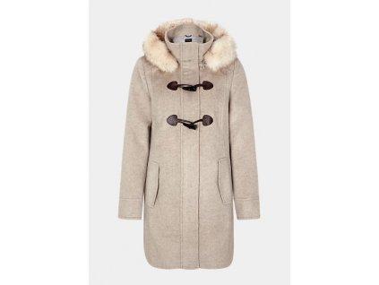 Kabát s kožíškem