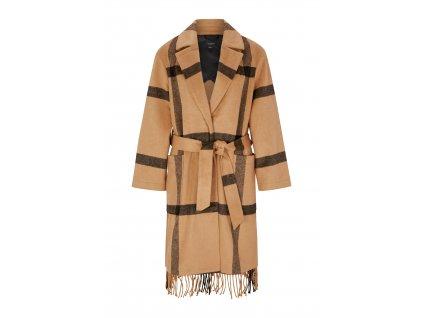Kabát s třásněmi