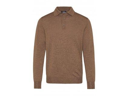 Hnědý pulovr Damy