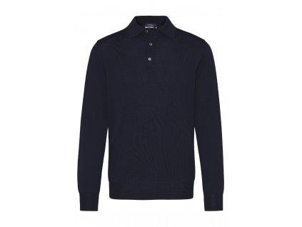 Tmavě modrý pulovr Damy