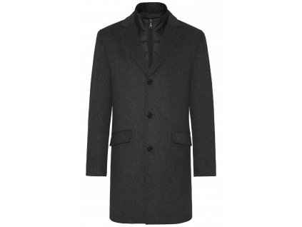 Kabát Deus šedá