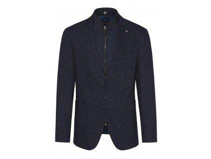 Modré sako s vsadkou Earl