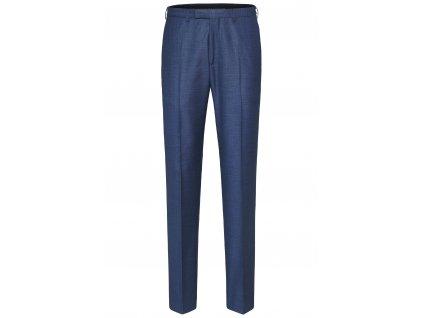 Tmavě modré oblekové kalhoty Apollo