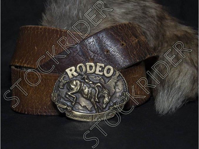 Westernová přezka Rodeo