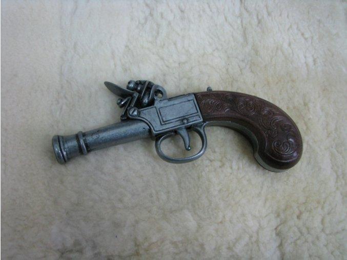 Křesadlová pistole Bunney 1770