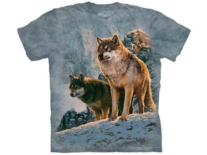 Wolf Couple Sunset 10 5938