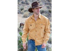 g270 3S04 Cowra Shirt mustard 1