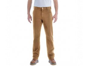 KALHOTY CARHARTT STRAIGHT FIT STRETCH DUCK DUNGAREE